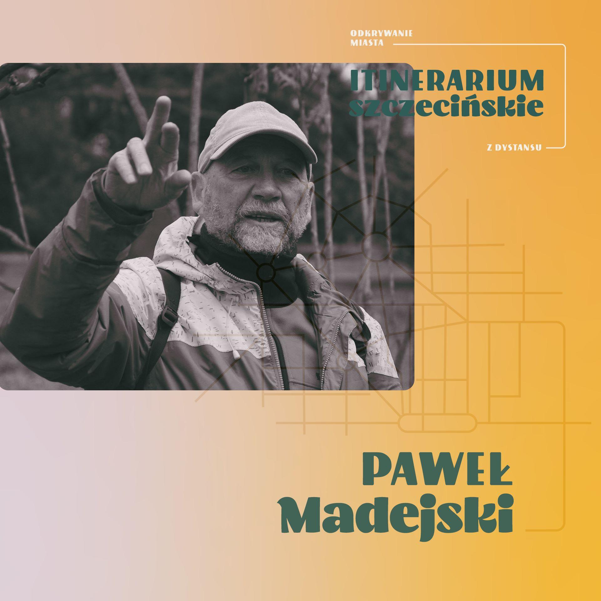 Chodź na zielony audio spacer z Pawłem Madejskim